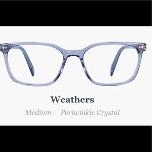 Warby Parker Weathers Non- RX Lenses